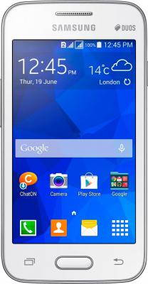 Смартфон Samsung Galaxy Ace 4 Duos / G313HU/DS (белый) - общий вид