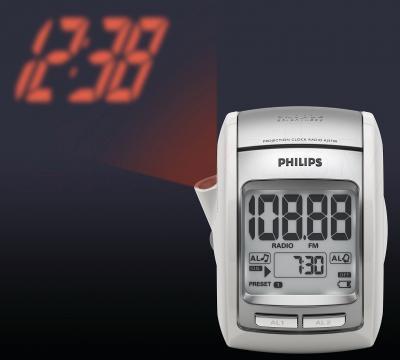 Радиочасы Philips AJ3700/12 - проекция времени