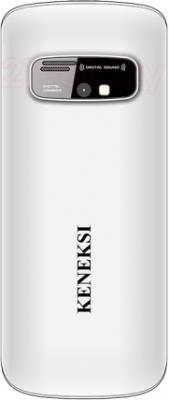 Мобильный телефон Keneksi S2 (White) - вид сзади