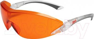 Очки защитные 3M 2846 (оранжевая линза) - общий вид