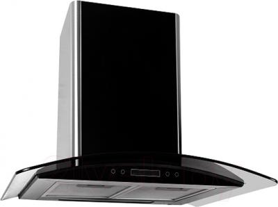 Вытяжка купольная Backer QD60E-G6L180 (черный глянец/темное стекло) - общий вид