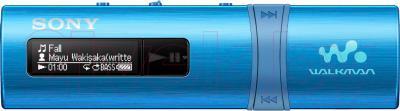 USB-плеер Sony NWZ-B183FL (4Gb, синий) - общий вид