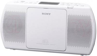 Магнитола Sony ZS-PE40W - общий вид