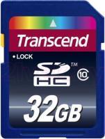 Карта памяти Transcend SDHC Class 10 32GB (TS32GSDHC10) -