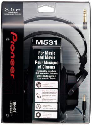 Наушники Pioneer SE-M531 - в упаковке