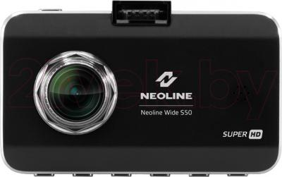 Автомобильный видеорегистратор NeoLine Wide S50 - фронтальный вид