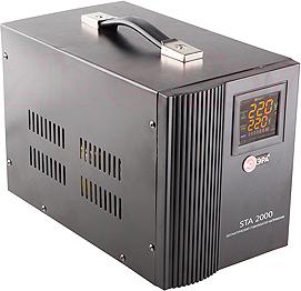 Стабилизатор напряжения ЭРА STA-2000 - общий вид