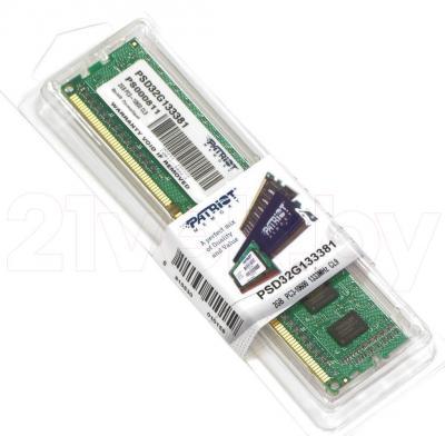 Оперативная память DDR3 Patriot PSD32G133381 - общий вид