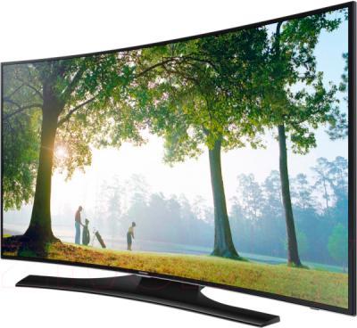 Телевизор Samsung UE55H6800AU - вполоборота