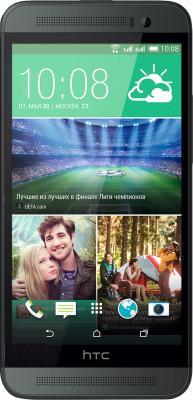 Смартфон HTC One Dual / E8 (серый) - общий вид