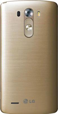 Смартфон LG G3 S mini Dual / D724 (золотой) - вид сзади