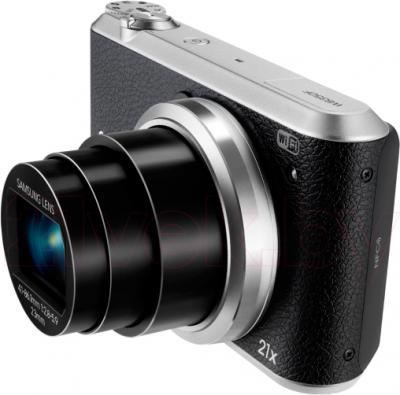 Компактный фотоаппарат Samsung WB350F (Black) - общий вид