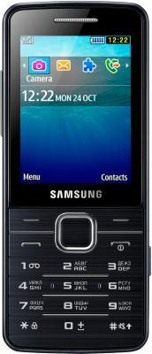 Мобильный телефон Samsung S5611 (черный) - общий вид