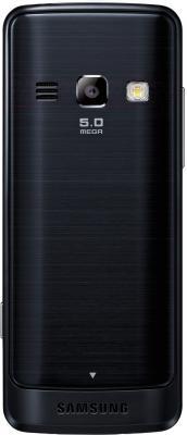 Мобильный телефон Samsung S5611 (черный) - вид сзади