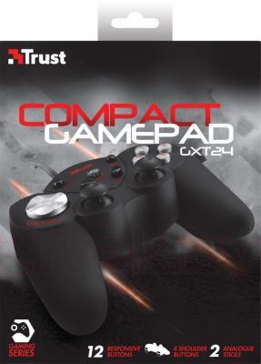 Геймпад Trust GXT 24 Compact Gamepad - коробка