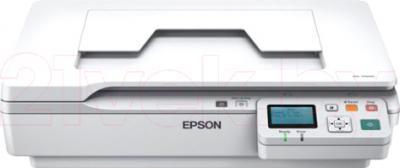 Планшетный сканер Epson WorkForce DS-5500N - вид спереди