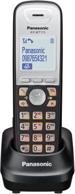 Дополнительная телефонная трубка Panasonic KX-WT115RU - общий вид