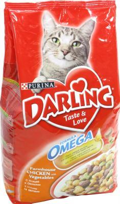Корм для кошек Darling С мясом птицы и овощами (2 кг) - общий вид