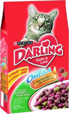 Корм для кошек Darling С кроликом и овощами (2 кг) - общий вид