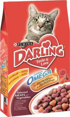 Корм для кошек Darling С мясом и овощами (2 кг) - общий вид