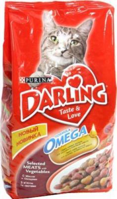 Корм для кошек Darling С мясом и овощами (10 кг) - общий вид