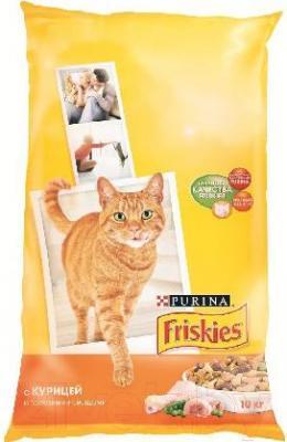 Корм для кошек Friskies С курицей и овощами (10 кг) - общий вид