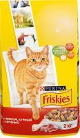 Корм для кошек Friskies С мясом, курицей и печенью (10 кг) -