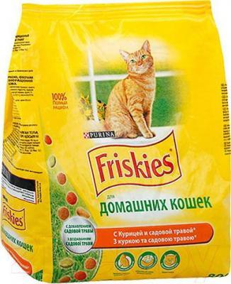 Корм для кошек Friskies С курицей и садовой травой (10 кг) - общий вид