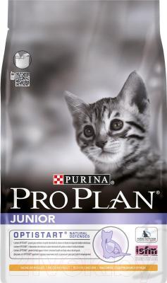 Корм для кошек Pro Plan Junior с курицей (3 кг) - общий вид