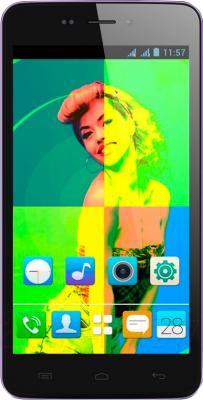 Смартфон Explay Rio Play (фиолетовый) - общий вид
