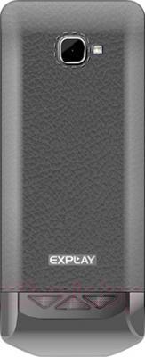 Мобильный телефон Explay Shark (Gray) - вид сзади