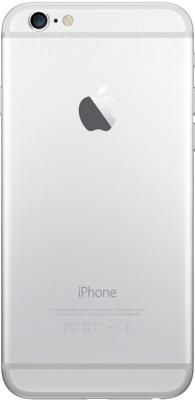 Смартфон Apple iPhone 6 (16Gb, серебристый) - вид сзади