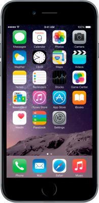 Смартфон Apple iPhone 6 (16GB, серый космос) - общий вид