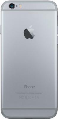 Смартфон Apple iPhone 6 (16GB, серый космос) - вид сзади