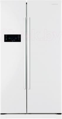 Холодильник с морозильником Samsung RSA1SHWP1/BWT - вид спереди