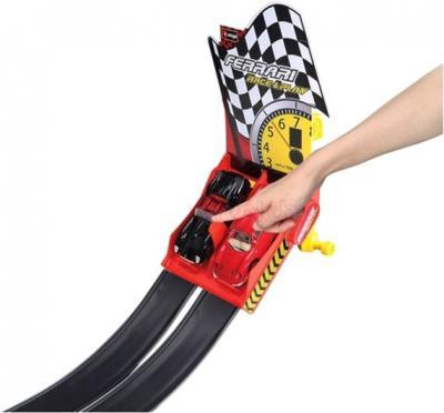Игровой набор Bburago Гоночный трек двойной с петлями  Феррари (18-31216) - ручное управление