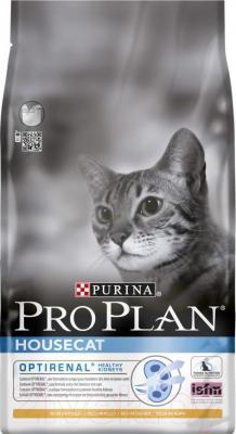 Корм для кошек Pro Plan House Cat с курицей (10 кг) - общий вид