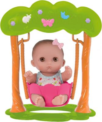 Кукла-младенец JC Toys Lil Cutisies на качелях (16964) - общий вид