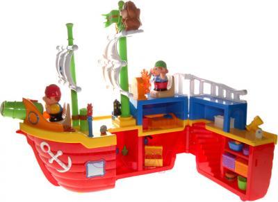 Игровой набор Kiddieland Корабль пиратов (038075) - корабль внутри