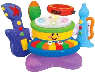 Музыкальная игрушка Kiddieland Набор музыкальных инструментов (050328) - общий вид
