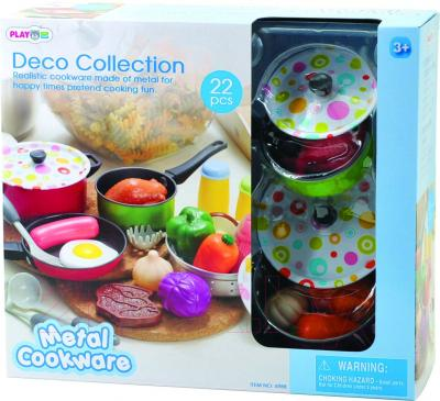 Игровой набор PlayGo Металлический набор посуды (6988) - упаковка