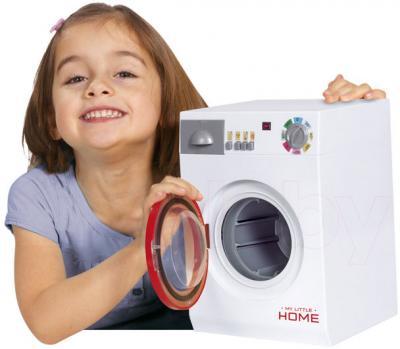 Игровой набор Simba Стиральная машина детская (10 4767490) - ребенок с игрушкой