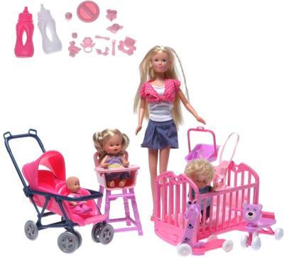 Кукла Simba Штеффи с детьми и аксессуарами (10 5736350) - общий вид