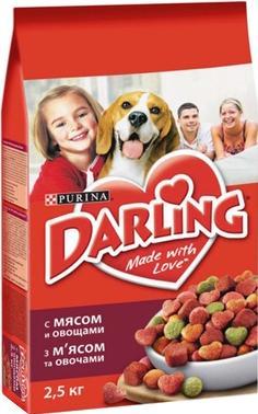 Корм для собак Darling С мясом и овощами (2,5 кг) - общий вид