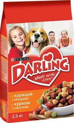 Корм для собак Darling С курицей и овощами (2,5 кг) - общий вид