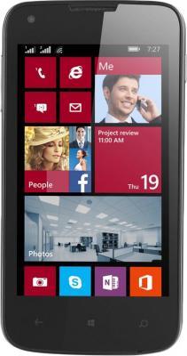 Смартфон Prestigio MultiPhone 8400 Duo (черный) - общий вид