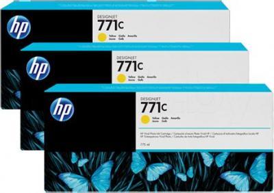 Комплект картриджей HP B6Y34A - общий вид