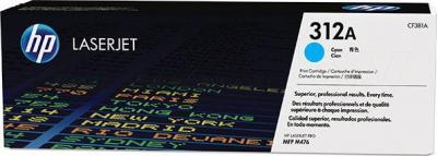 Тонер-картридж HP CF381A - общий вид