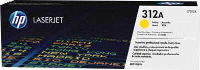 Тонер-картридж HP CF382A - общий вид