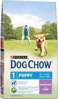 Корм для собак Dog Chow Puppy с ягненком полнорационный (14 кг) -